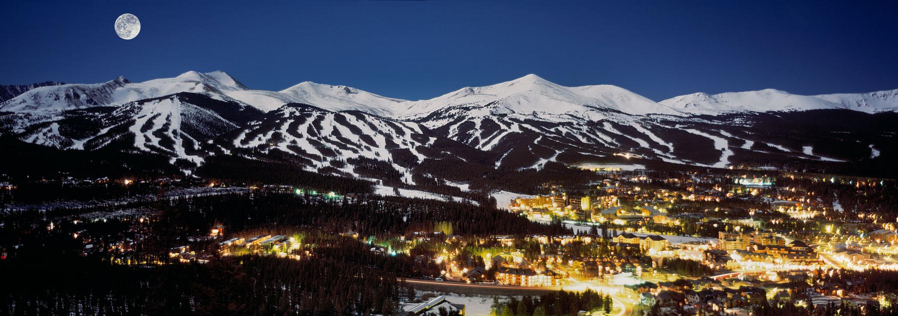 Full Moon Over Breckenridge
